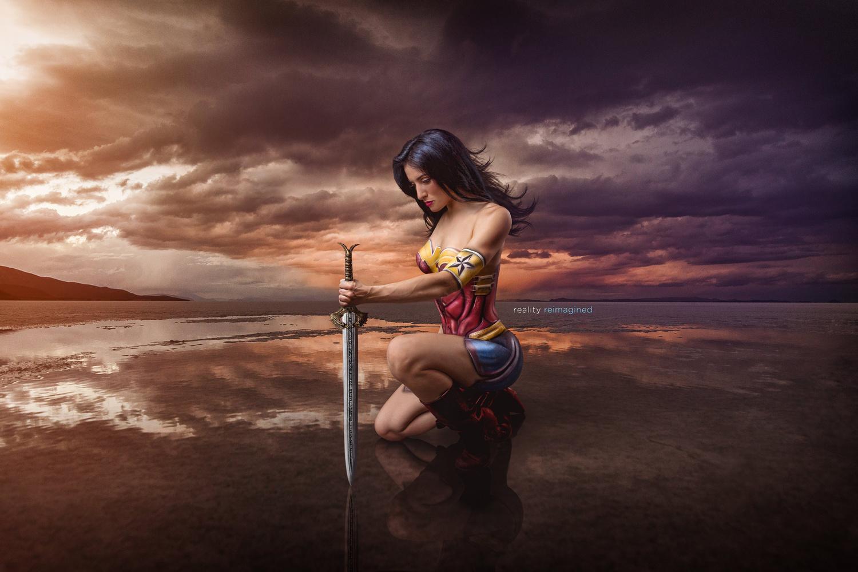 Wonder Woman by David Byrd