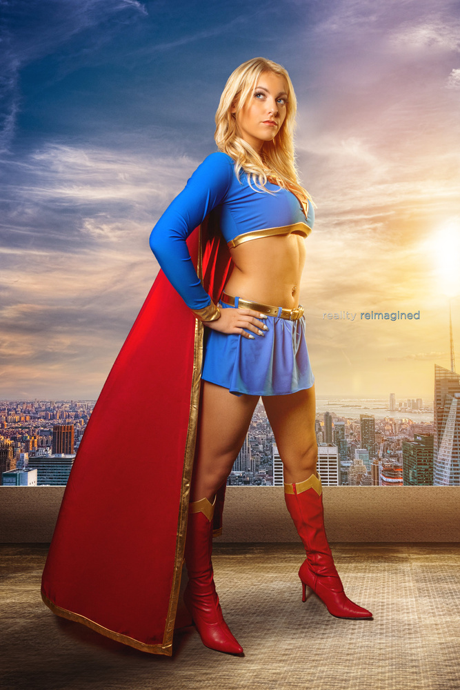 Supergirl by David Byrd