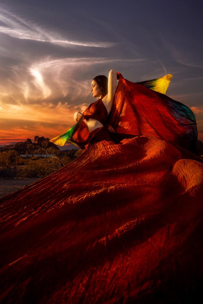 Golden Hour Phoenix by David Byrd