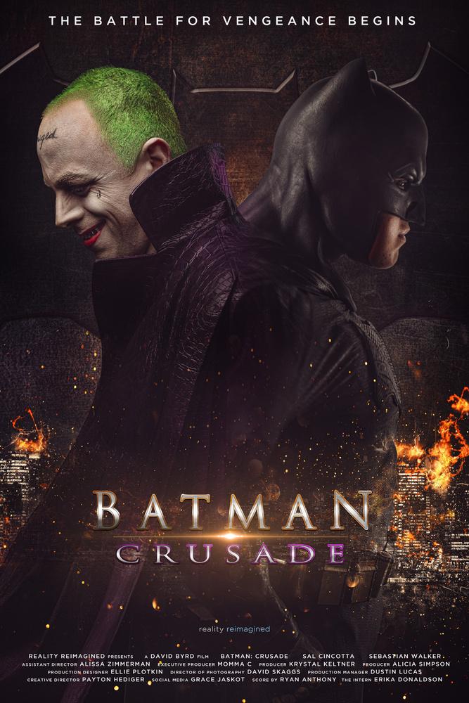 Batman: Crusade by David Byrd