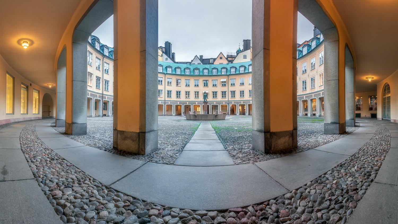 round square by Mikhail Proskalov