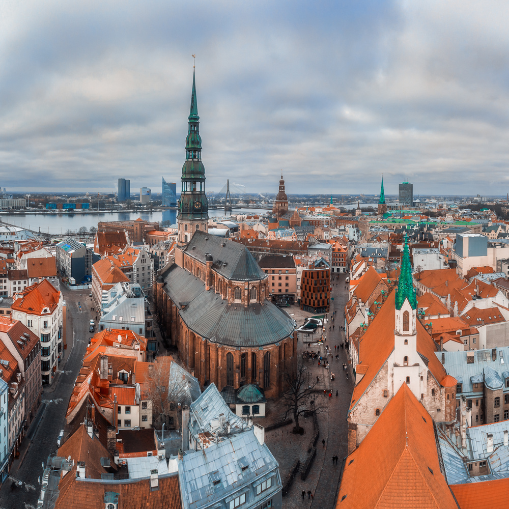 Riga by Mikhail Proskalov