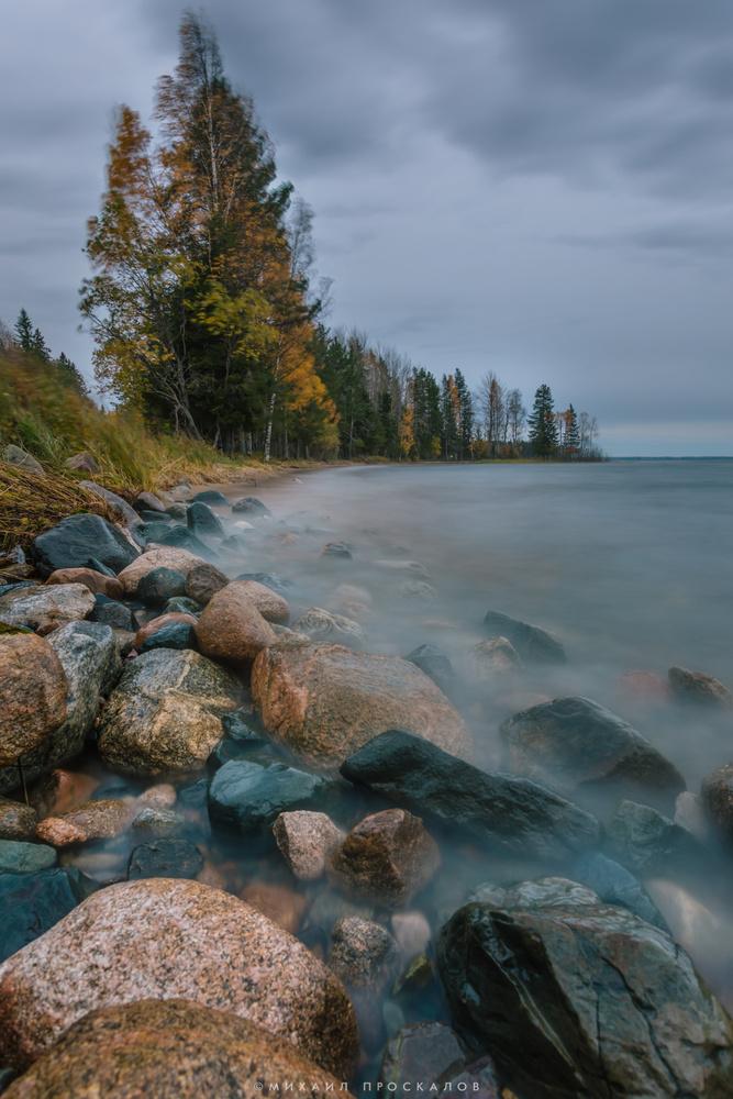 a shore by Mikhail Proskalov