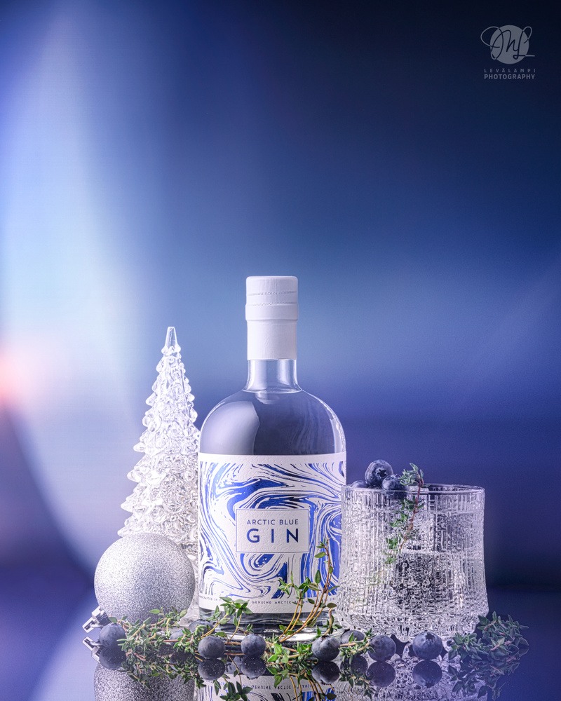 Arctic Blue Gin by Mika Levälampi