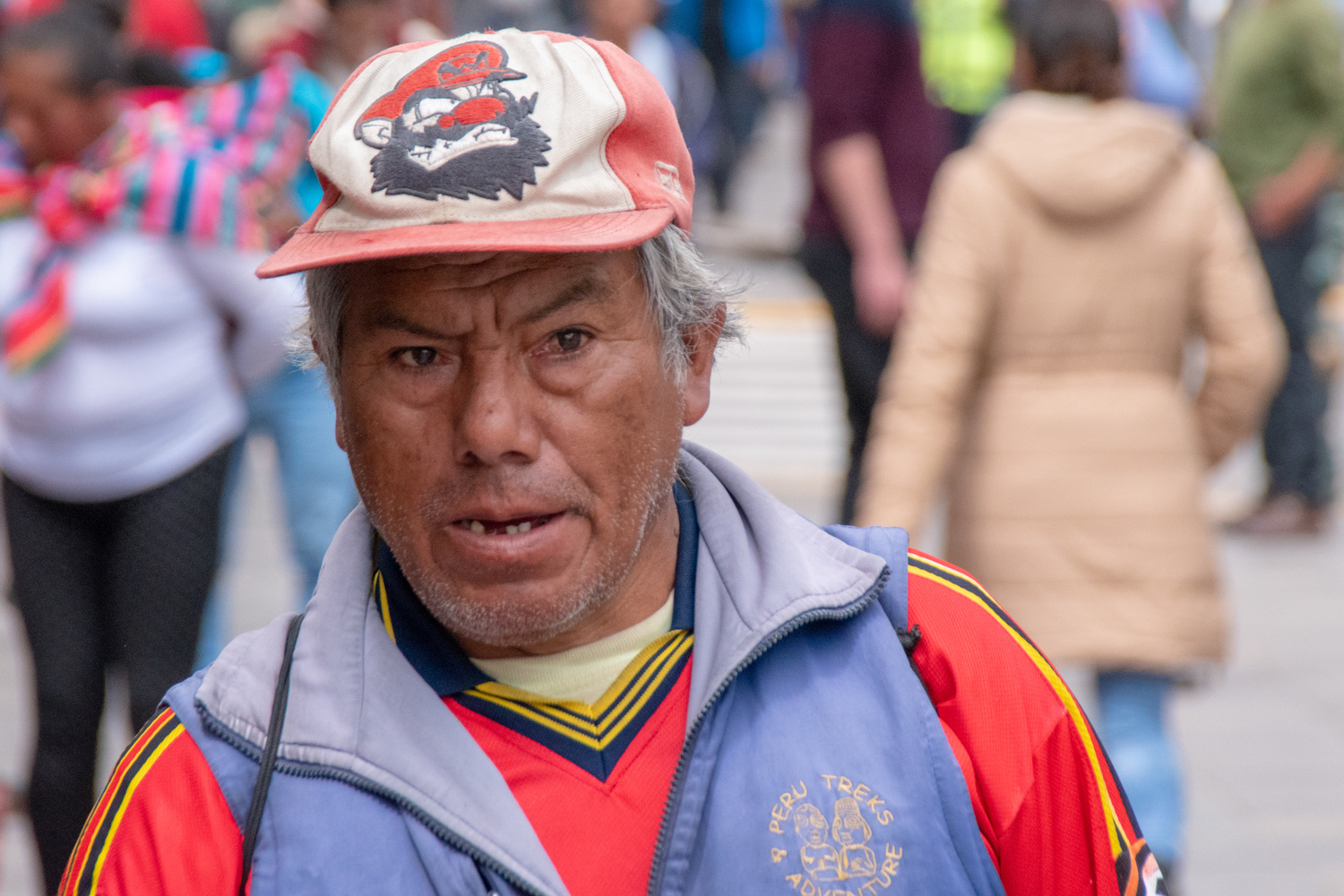 Old Guy in Cuzco Peru by carey rogers