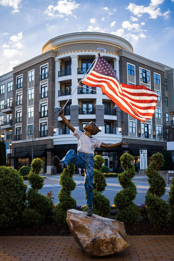 Carrying the Flag by Larry Wynkoop