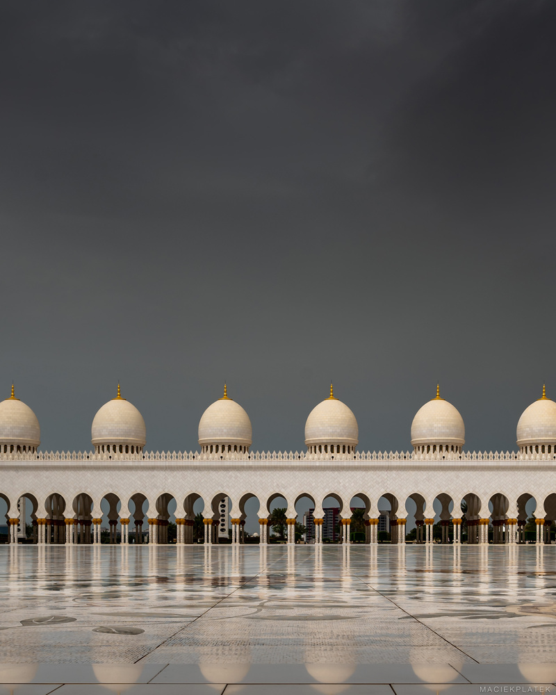 Stormy Mosque by Maciek Platek