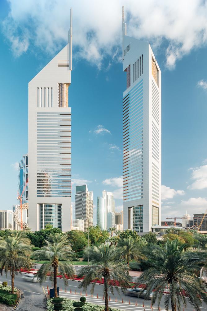 Emirates Towers by Maciek Platek