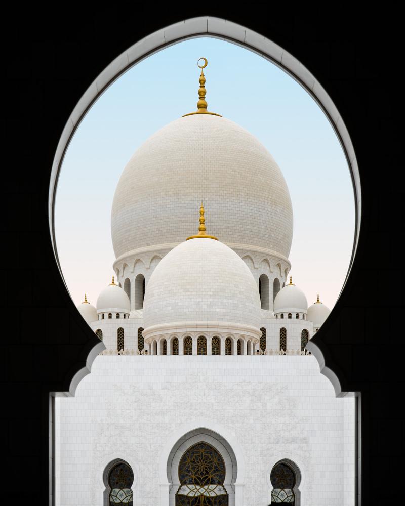 Symmetry at the Mosque by Maciek Platek