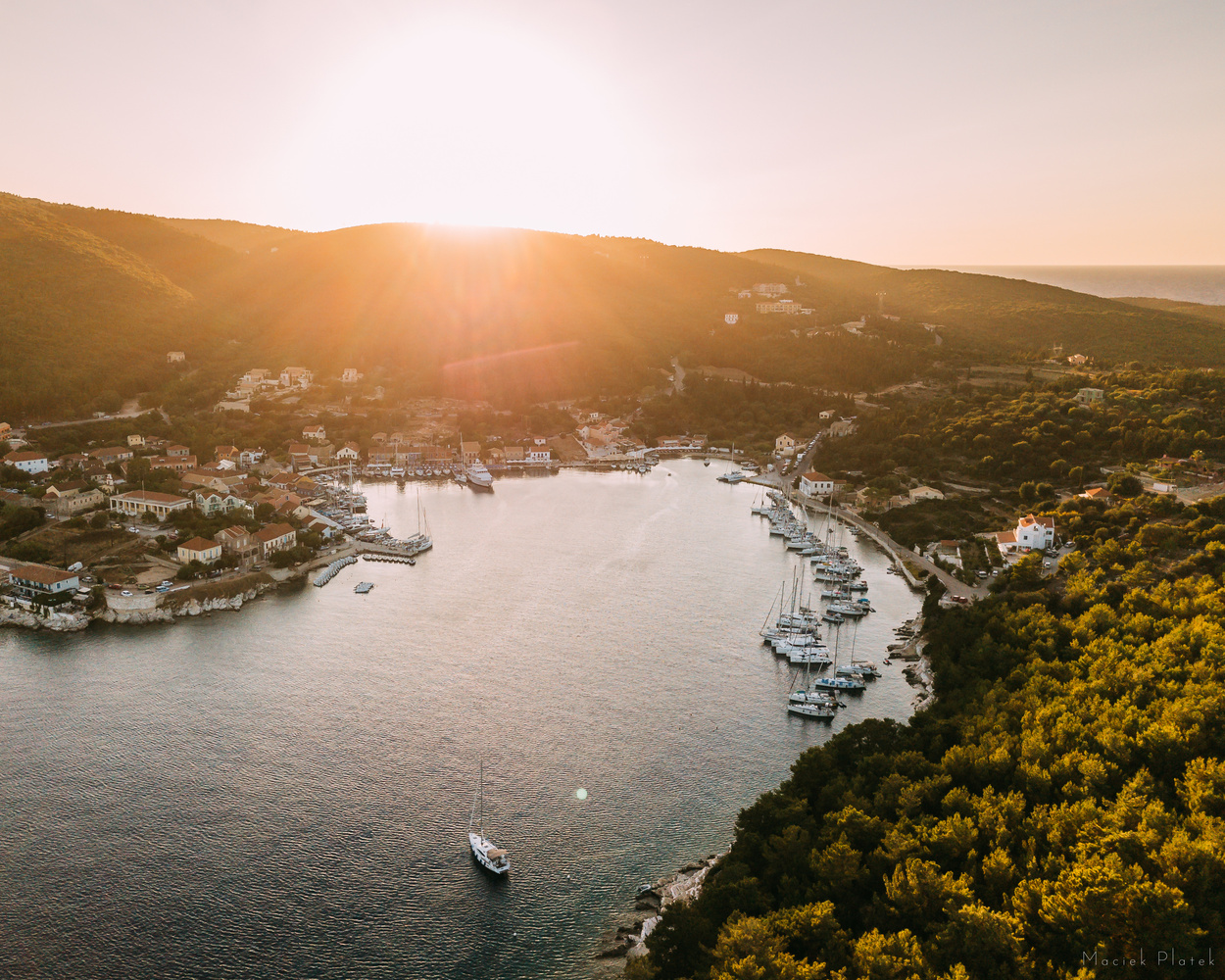 Mediterranean Sunsets by Maciek Platek