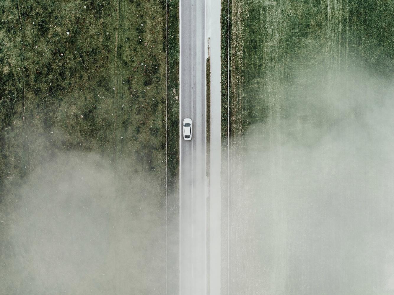 In the Clouds by Maciek Platek
