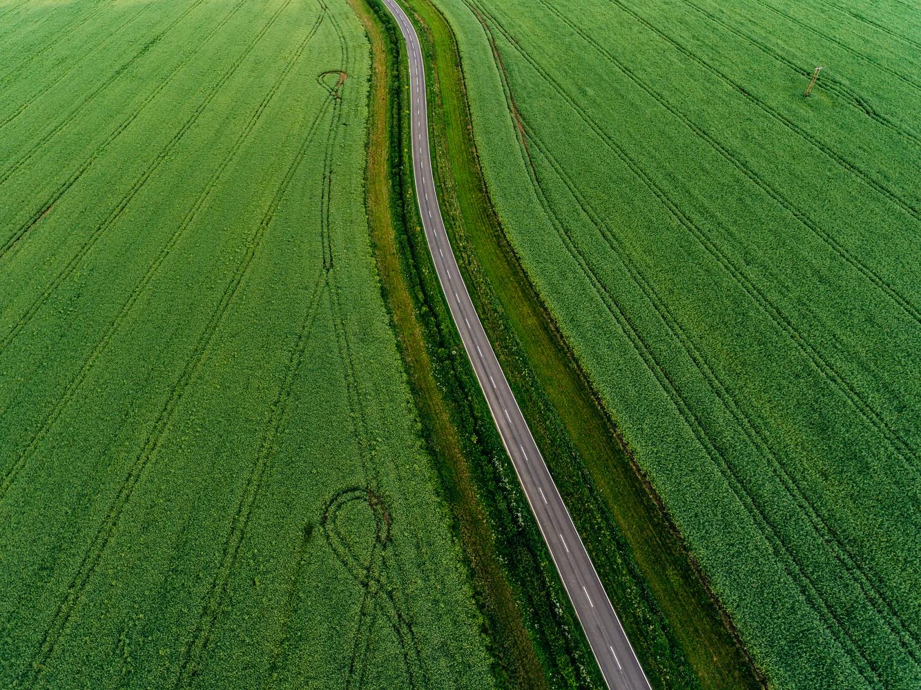 Road to nowhere by Maciek Platek