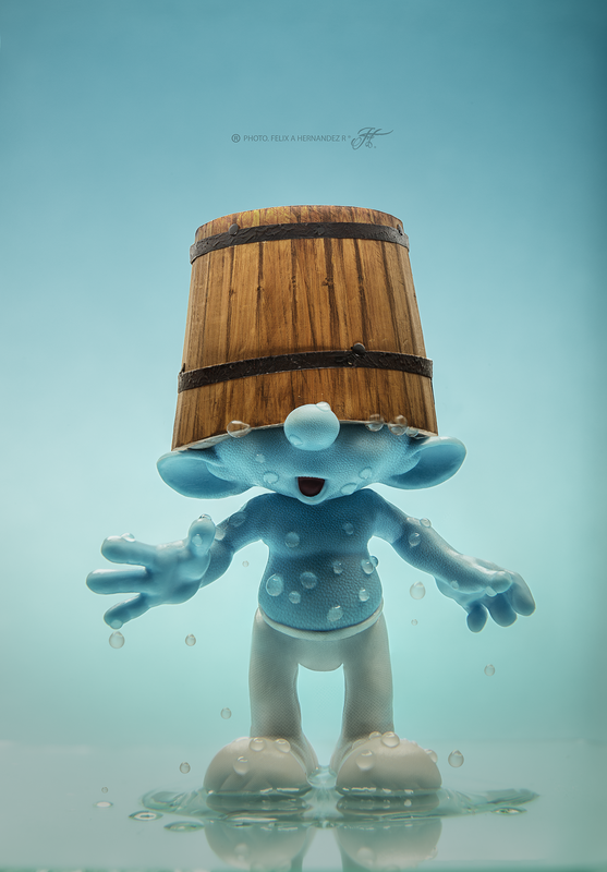 The Smurf by Felix Hernandez