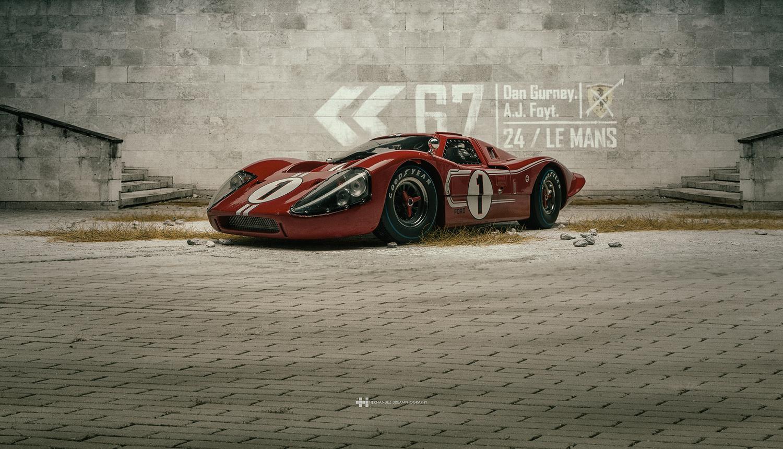 Ford GT40 MK IV by Felix Hernandez