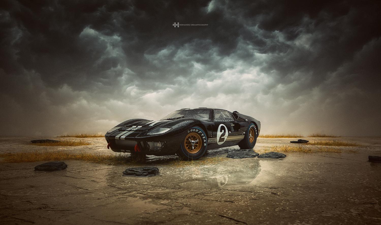 Shelby GT40 MkII by Felix Hernandez