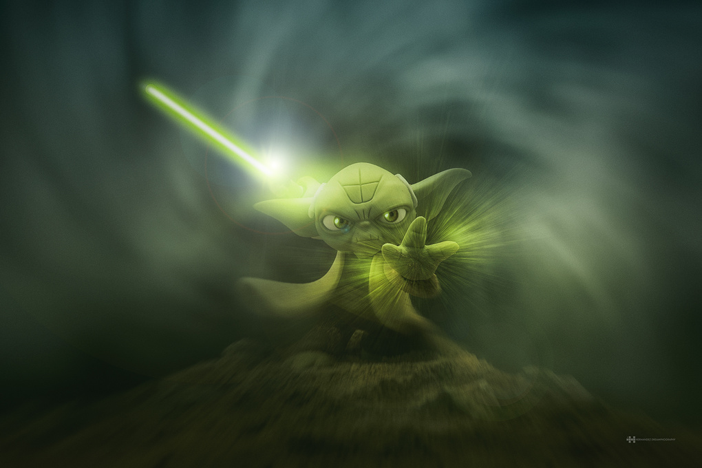 Yoda Master he is by Felix Hernandez