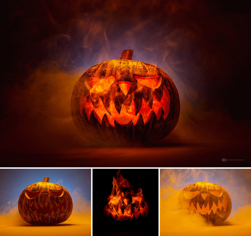 Pumpkin on Fire by Felix Hernandez