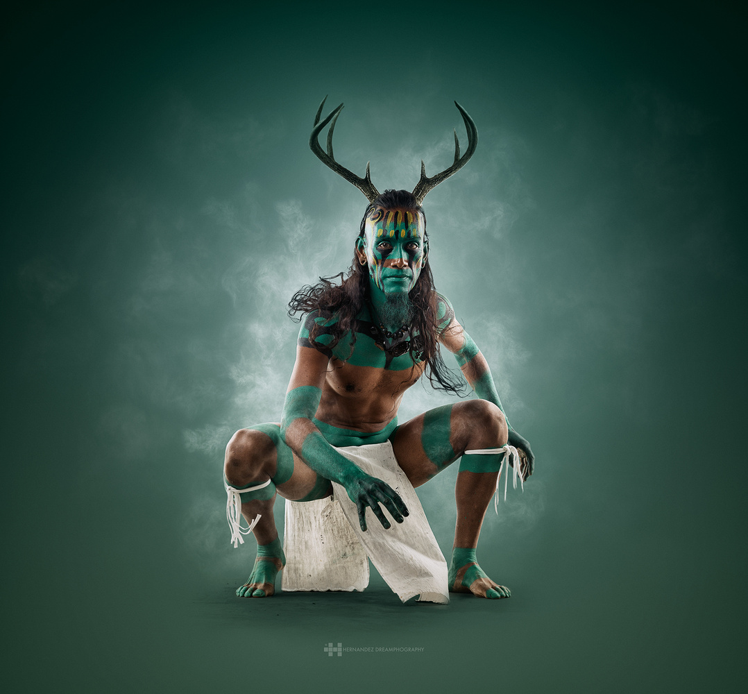 Mayan. Deer Warrior by Felix Hernandez