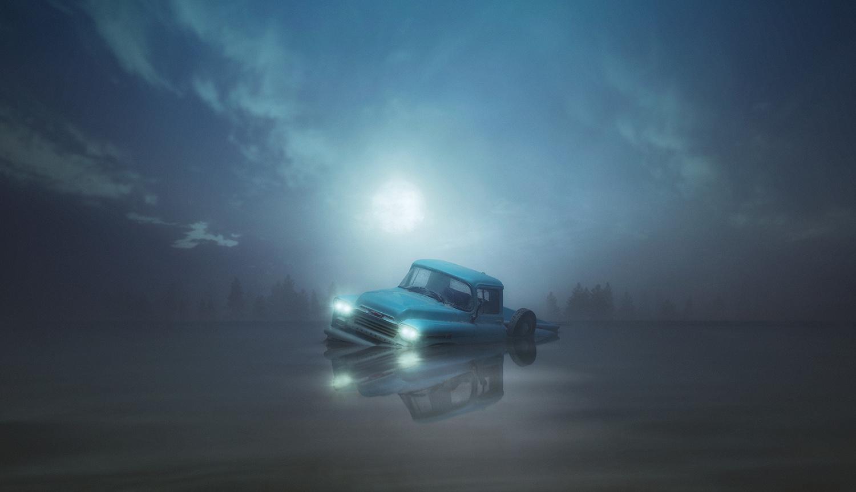 The Last Full Moon by Felix Hernandez