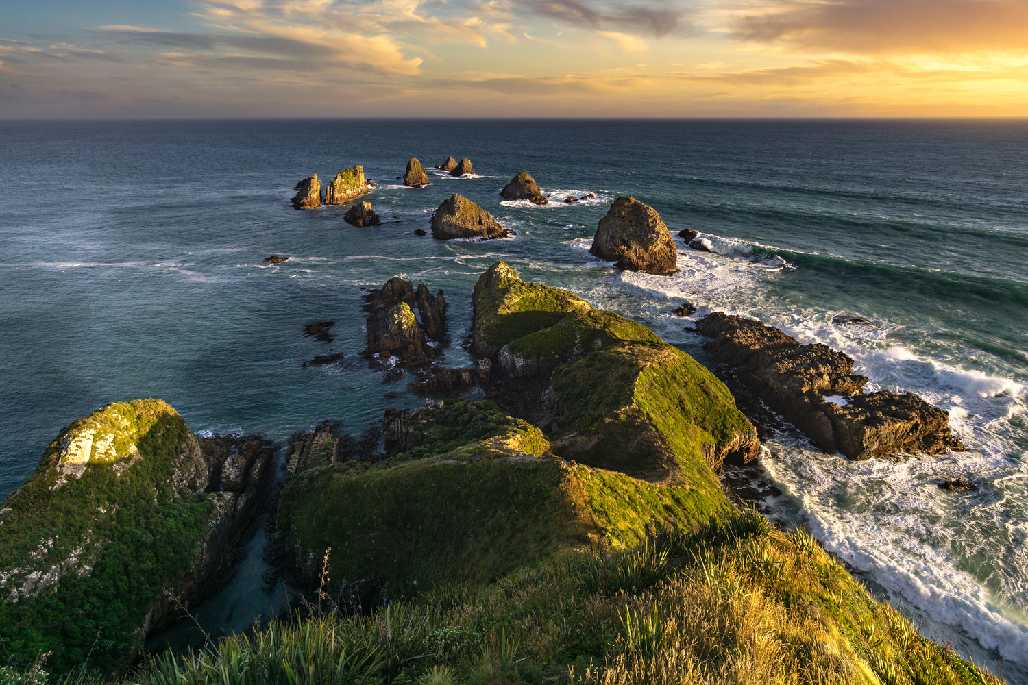 Sunset at Nugget Point by Jesse Vance
