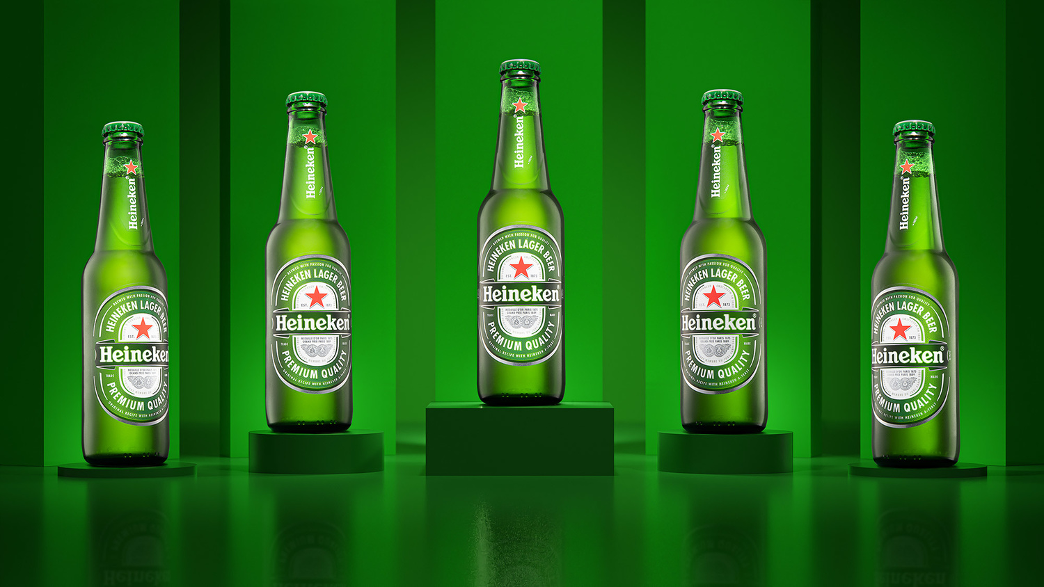 The only competition, is Heineken. by Ethan Davis