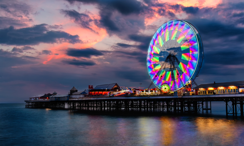 Blackpool Pier by Ethan Davis