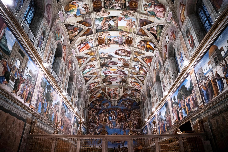 Sistine Chapel by Brett BARCLAY
