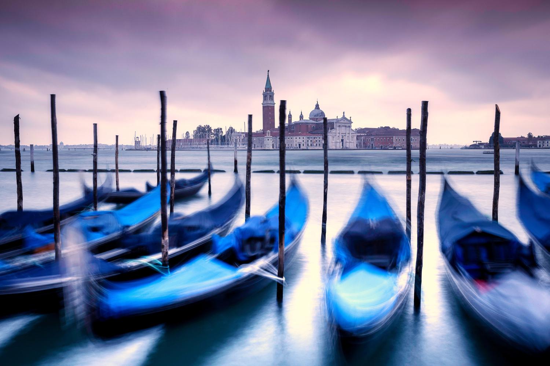 Venice Sunset by Brett BARCLAY