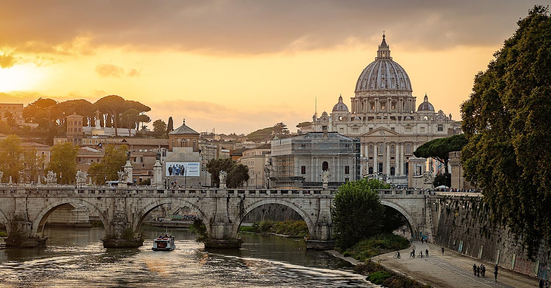 St. Peter's Sunset by Brett BARCLAY
