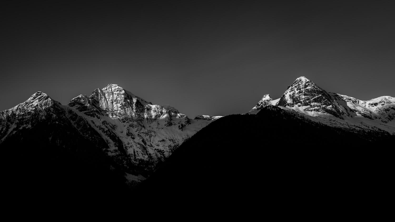 Cascade Sunrise by Brett BARCLAY