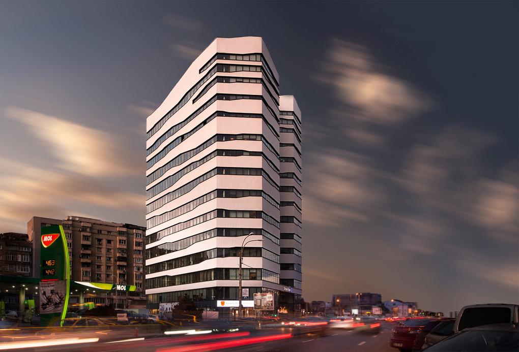 Olympia Tower Building by Radu Gospodinov