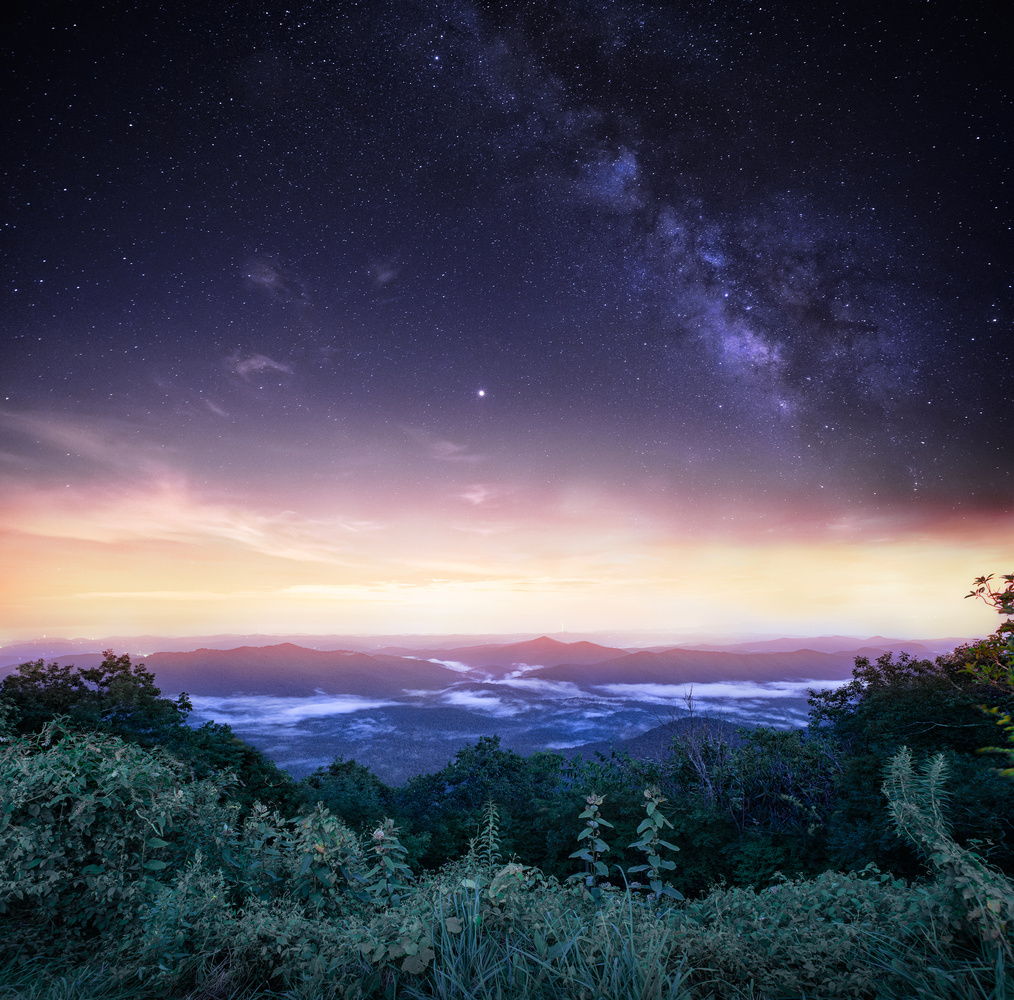 The Starry Smoky Mountains by Liza Rock