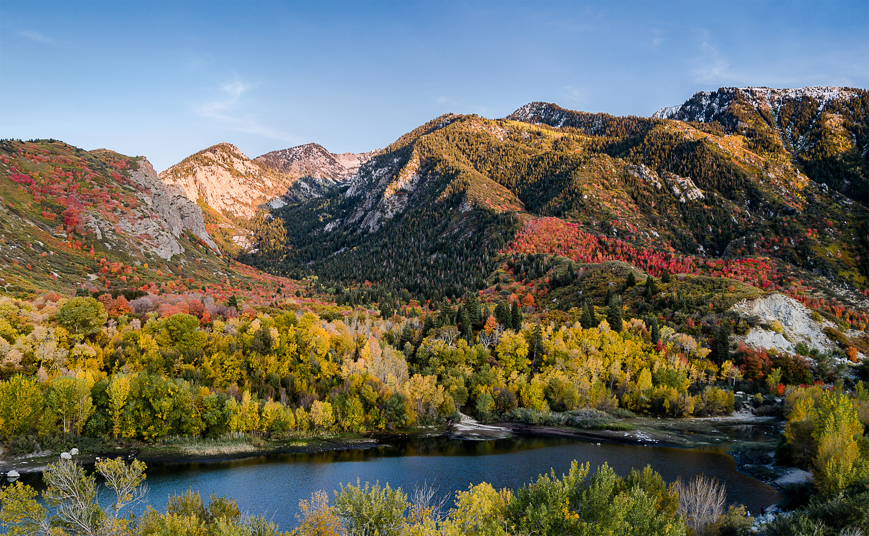 Bells Canyon Reservoir, Utah by Collin Riley