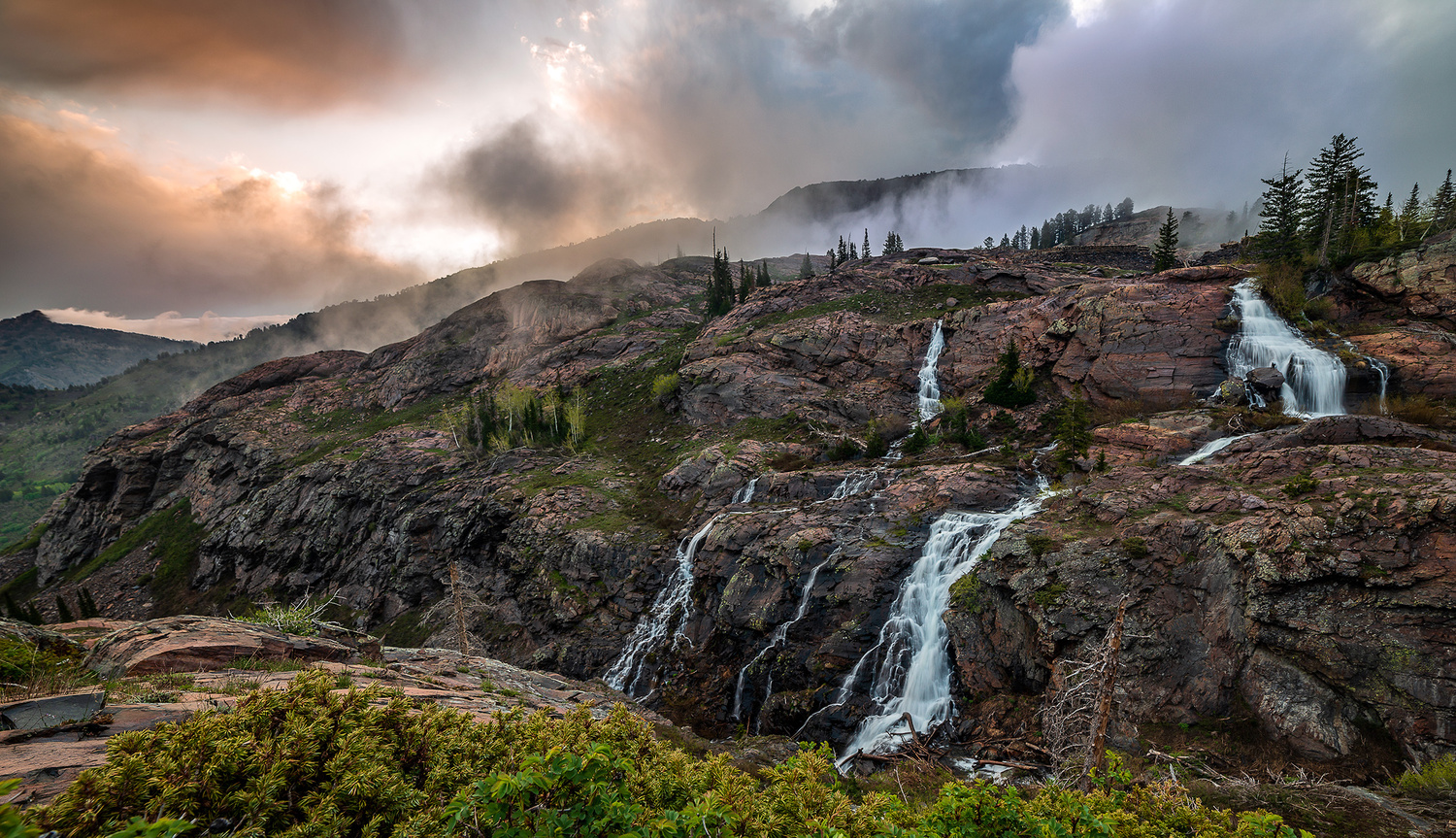 Wasatch Waterfalls by Collin Riley