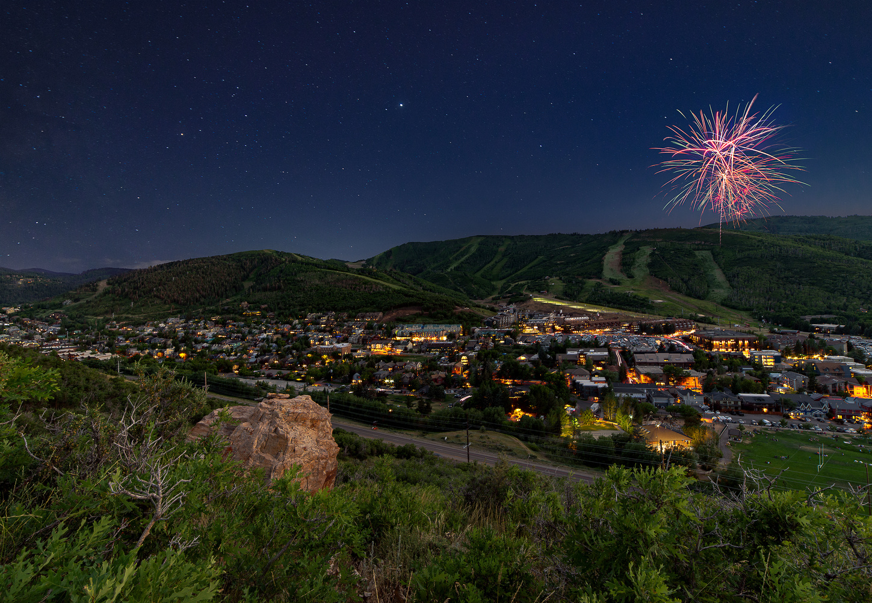 Park City Fireworks by Collin Riley