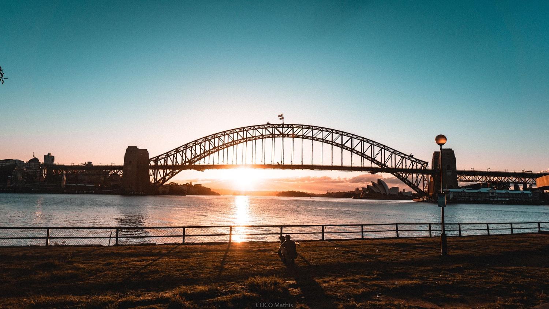 Sydney sunrise by Mathis Coco