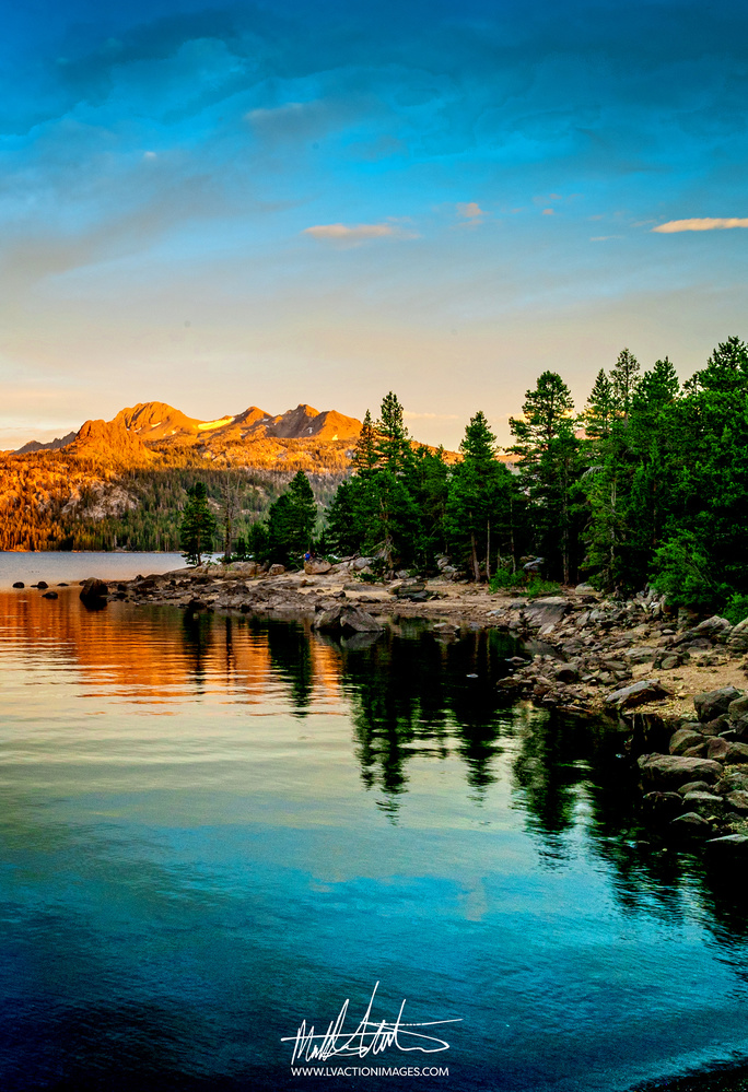 Caples Lake Sunset by Matthew Carter