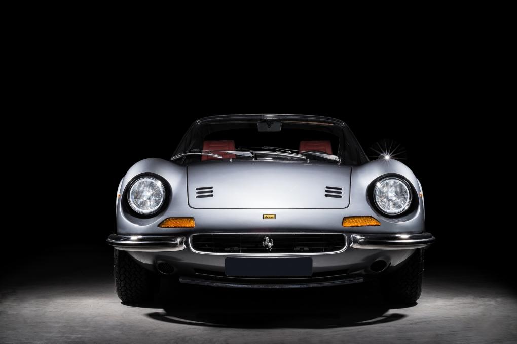 Ferrari Dino GTS - 4 by Thom Spierenburg