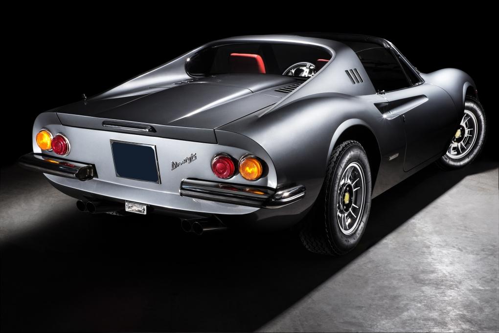 Ferrari Dino GTS - 1 by Thom Spierenburg