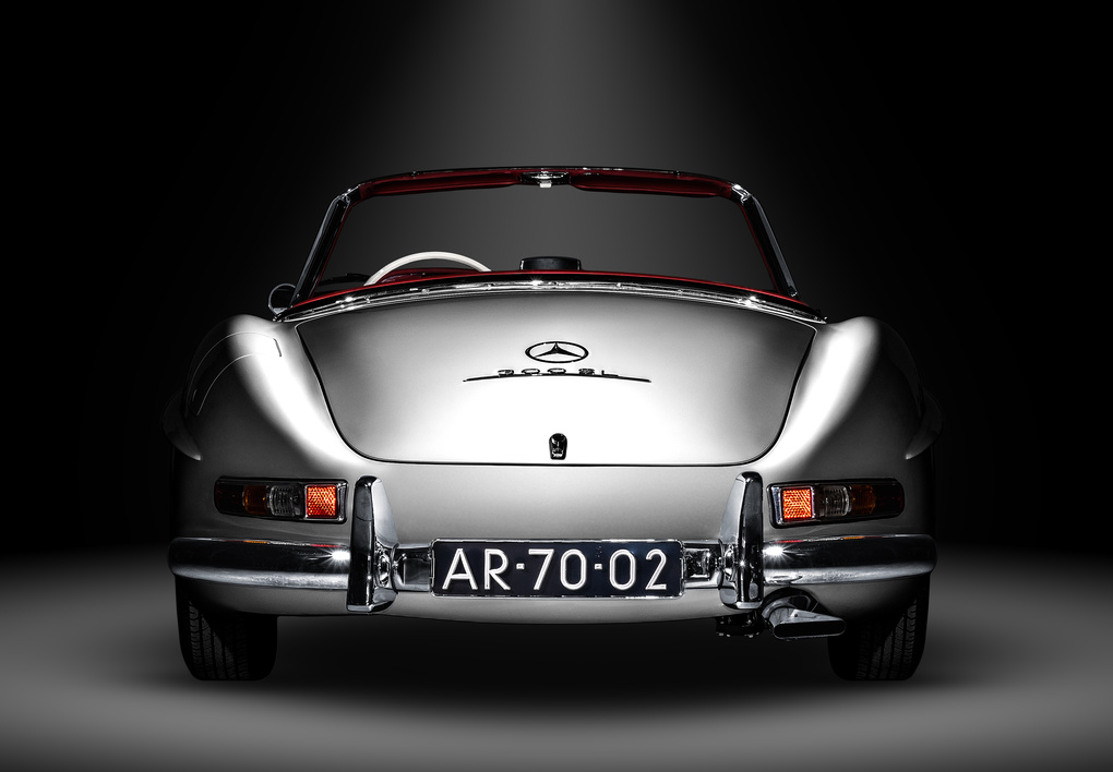 Mercedes-Benz 300SL by Thom Spierenburg