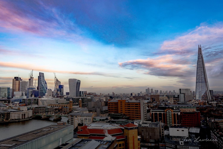 London Skyline by Thomas Lawrence