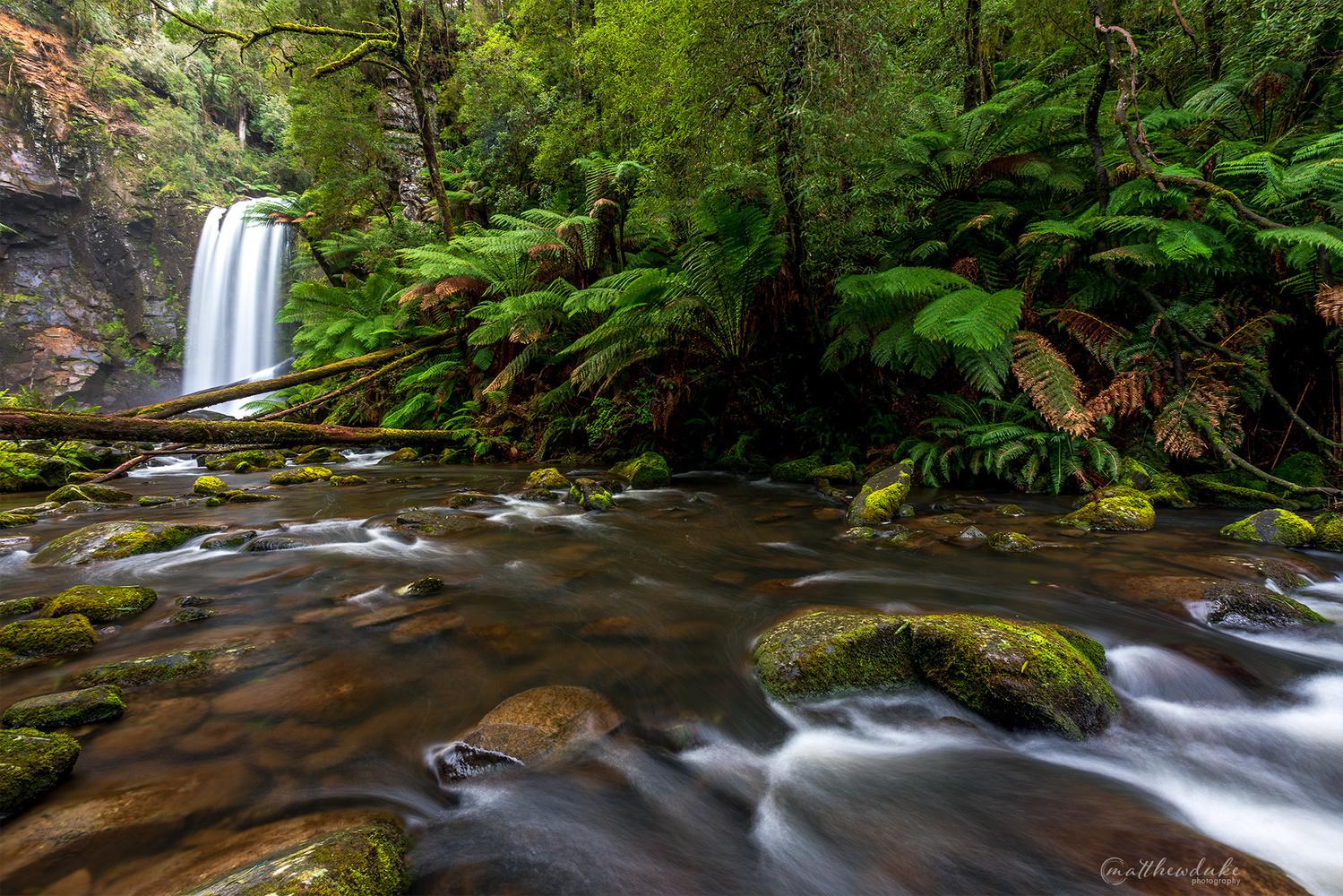 Hopetoun Falls by Matt Duke