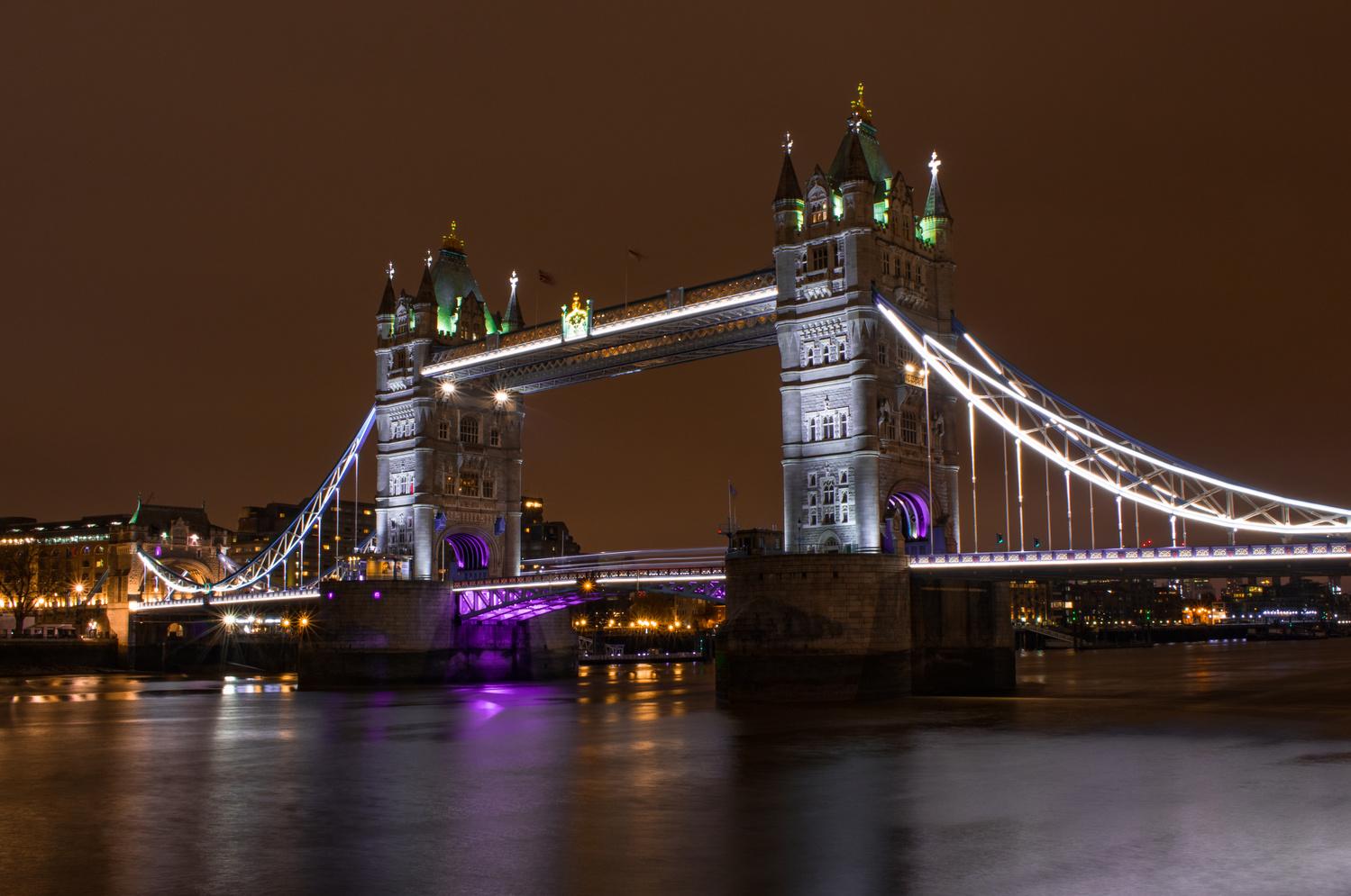 Tower Bridge, London by Adam Vasas