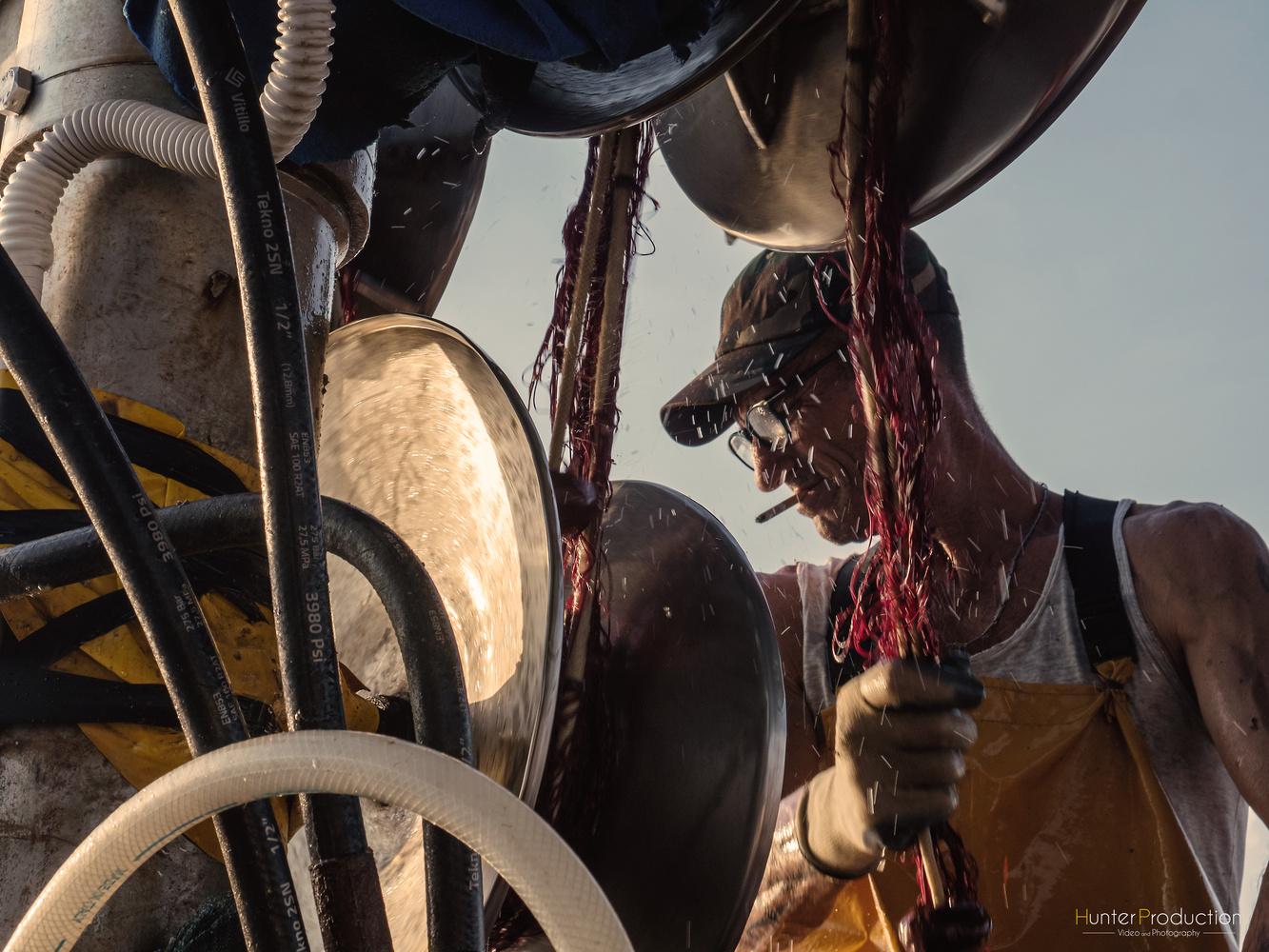 Sea Worker  by Mattia Cacciatore