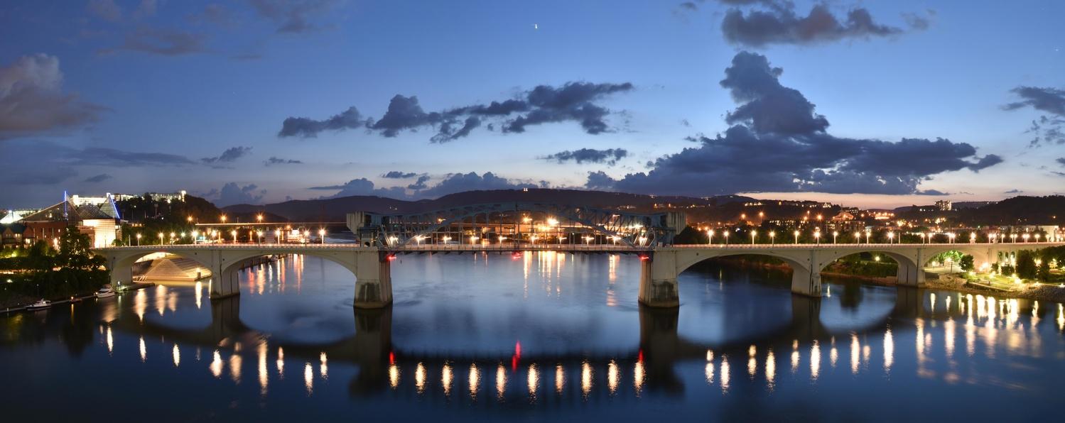 Chattanooga - John Ross Bridge by Ryan Walters