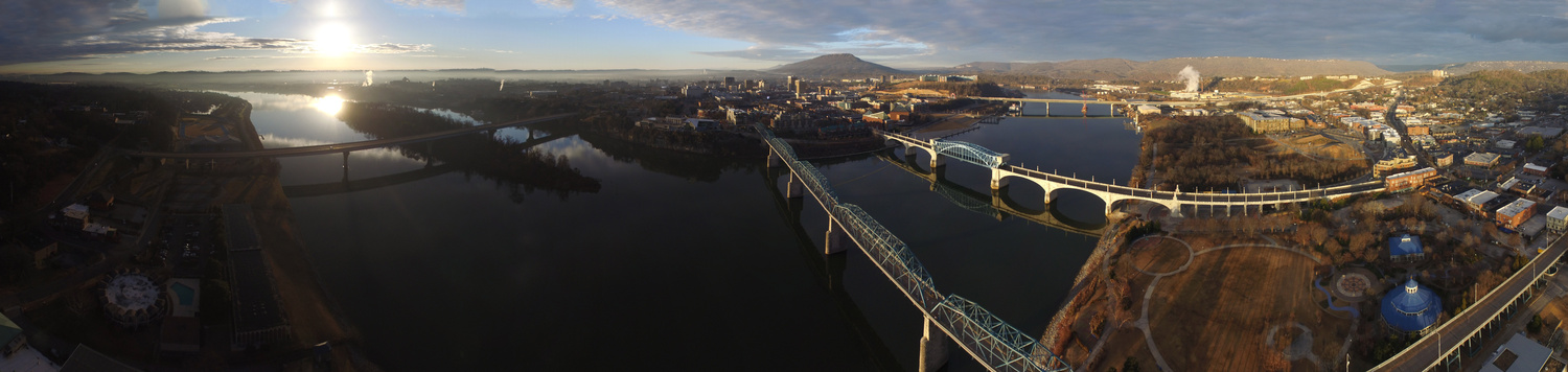 Tennessee River Chattanooga by Ryan Walters