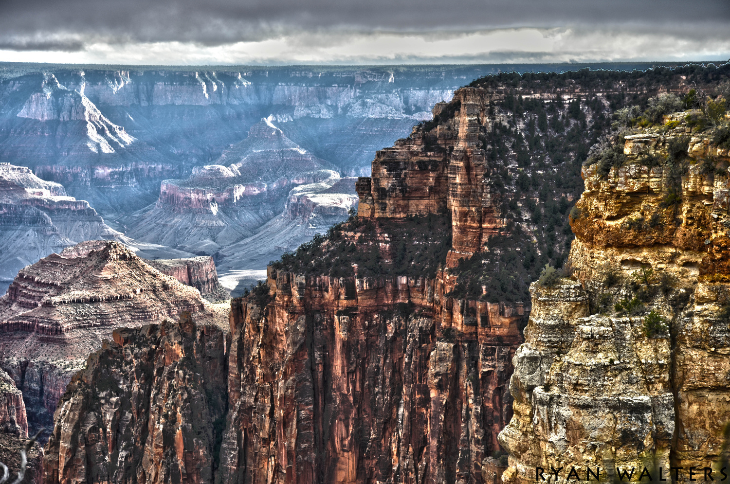 Grand Canyon Cliffs by Ryan Walters