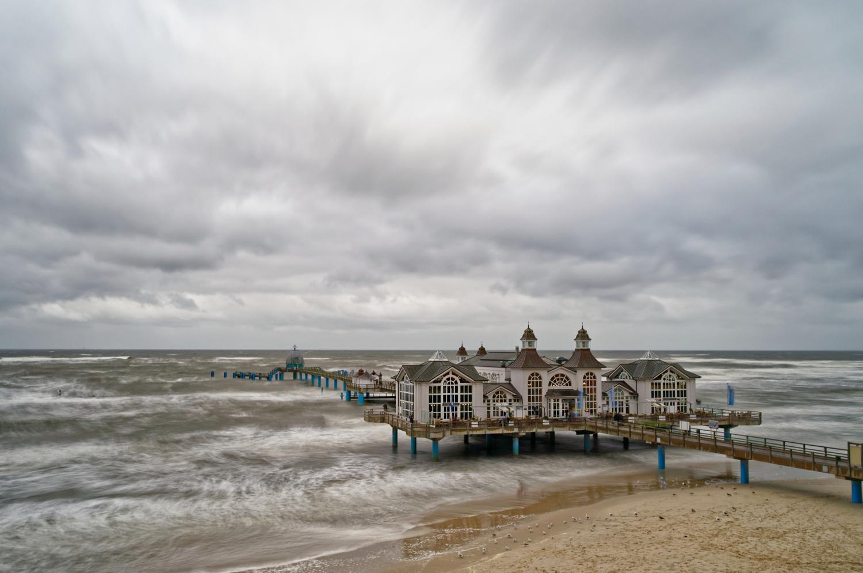 The pier by Jan Grau