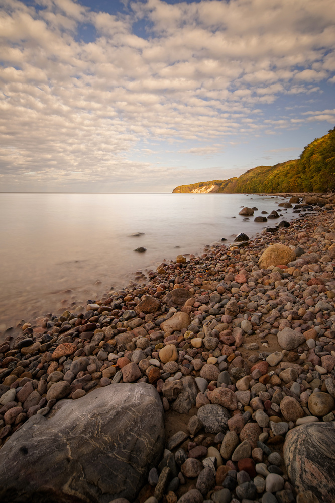 Rocky beach 2 by Jan Grau