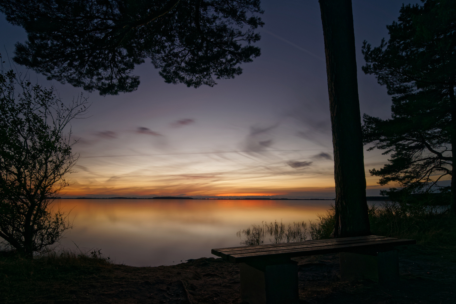After sunset by Jan Grau